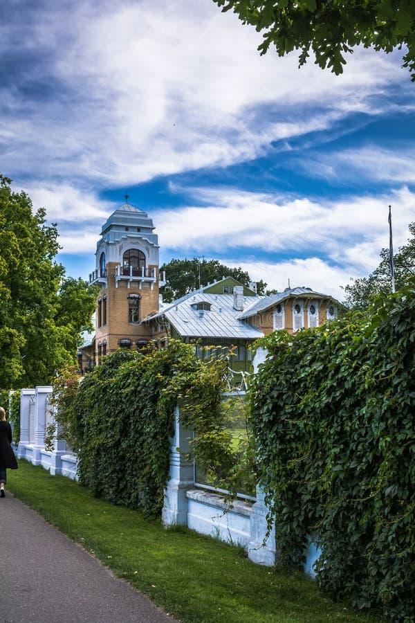 Chalet Ammende en Parnu, Estonia fotos de archivo