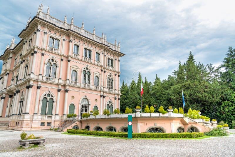 Chalet Andrea Ponti, Varese, Italia fotos de archivo libres de regalías