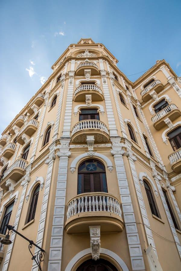 Chalet de Edificio Gómez - Camara Oscura - plaza Vieja - La Habana, Cuba foto de archivo