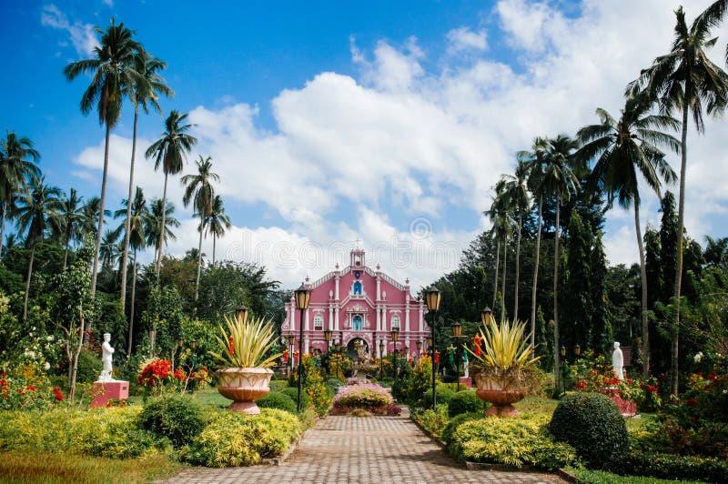 Chalet Escudero, San Pablo, Filipinas del museo imagen de archivo libre de regalías