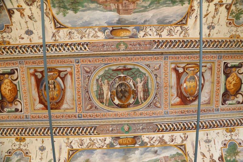 Chalet Farnese - Guardroom fotografía de archivo libre de regalías