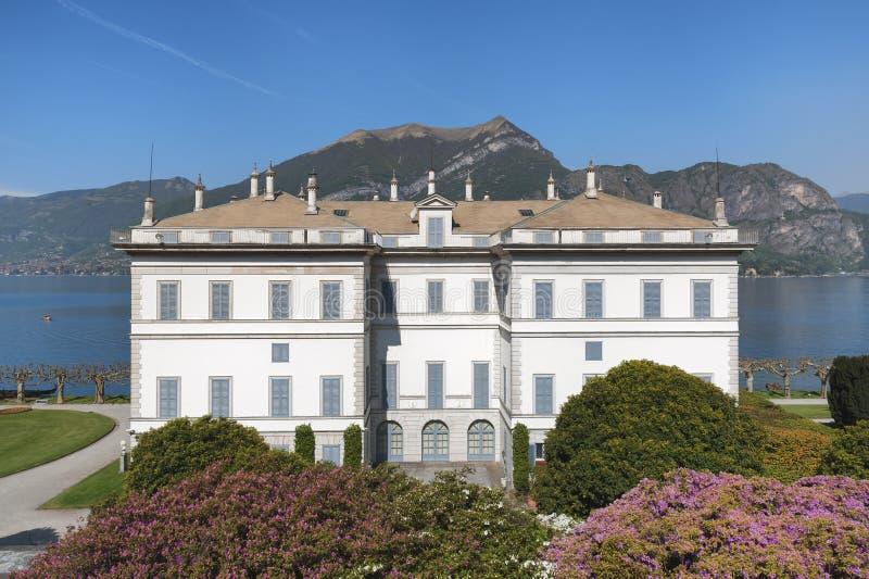 Chalet Melzi, Bellagio, lago Como, Italia fotos de archivo libres de regalías