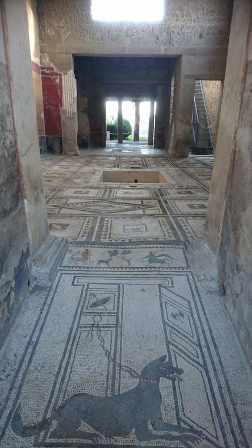 Chalet romano interno fotos de archivo libres de regalías