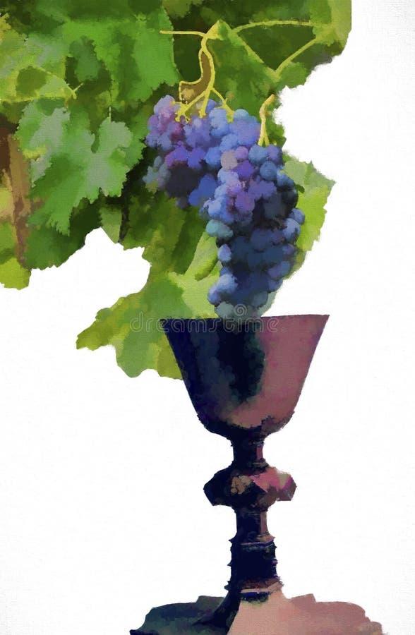 chalice illustrazione di stock