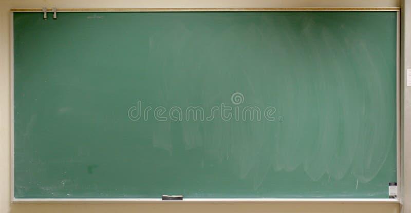 Chalk Board. Closeup of a chalkboard in a real classroom