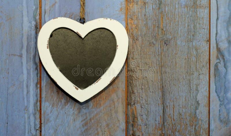 Chalk Board heart royalty free stock photo