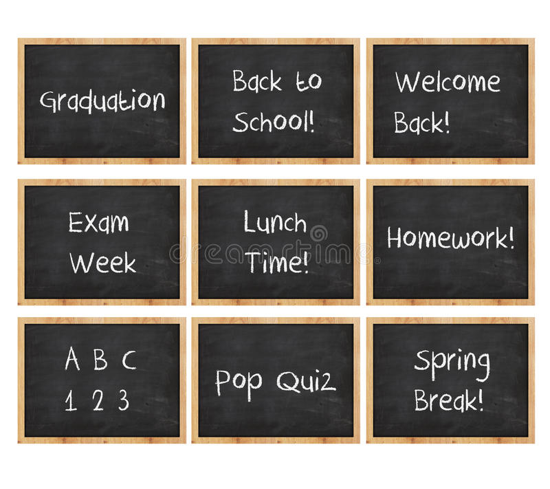 Free Chalk Board Message Royalty Free Stock Images - 29214369