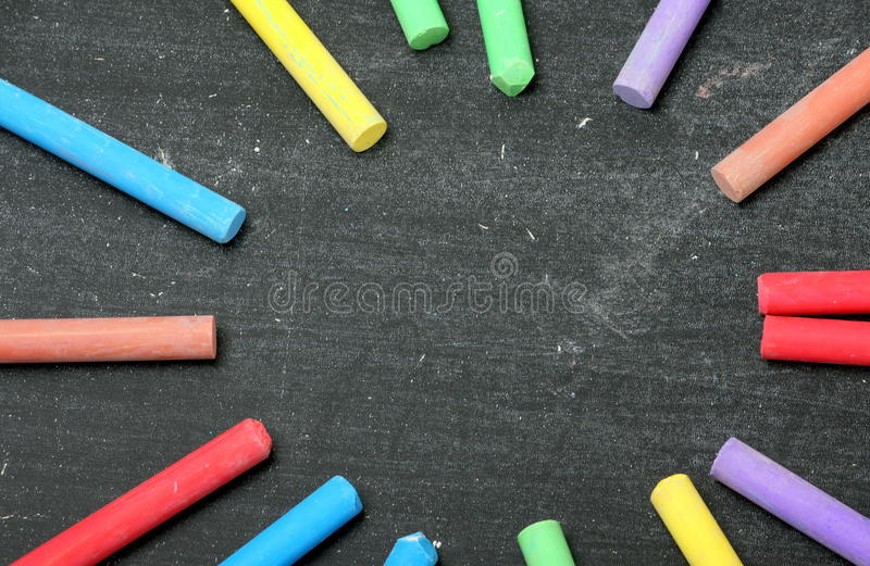 Download Chalk Circle stock image. Image of space, creativity - 34298067