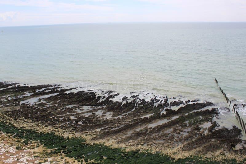 Chalk coast stock photography