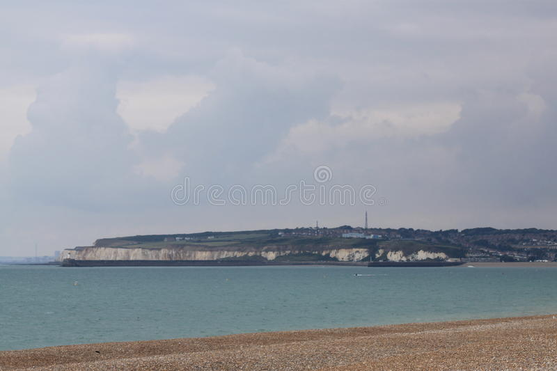 Chalk coast royalty free stock photos