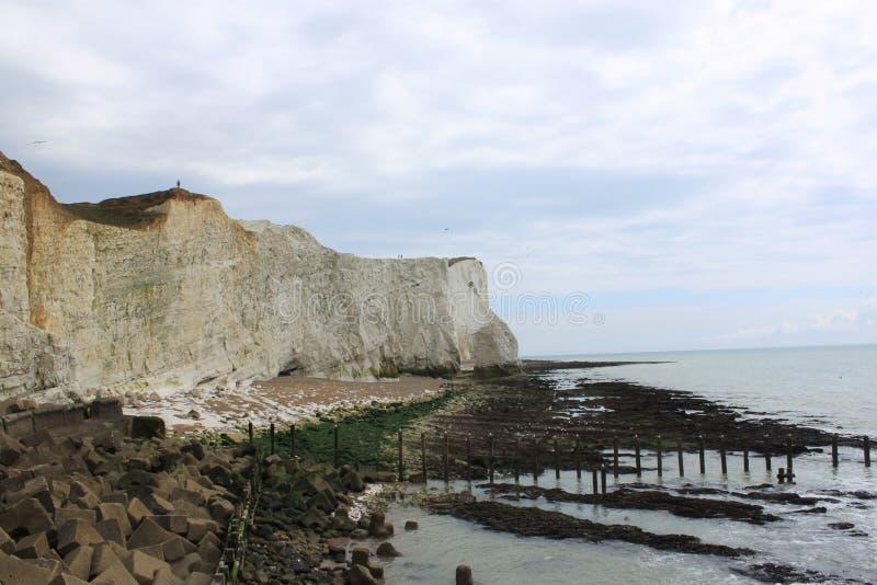 Chalk coast royalty free stock image