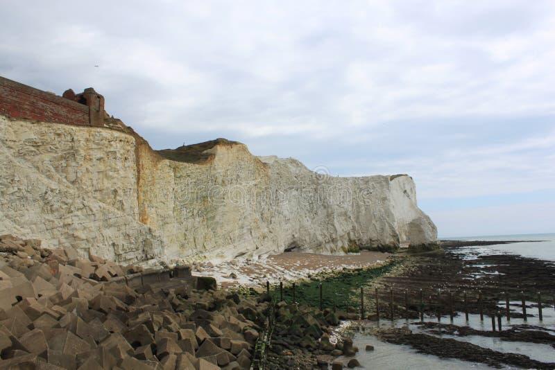 Chalk coast stock photos