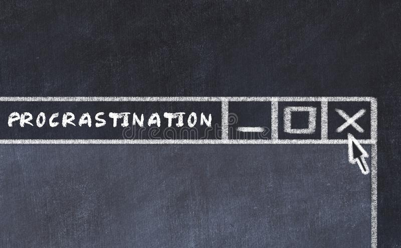 Procrastination Stock Illustrations – 2,075 ...