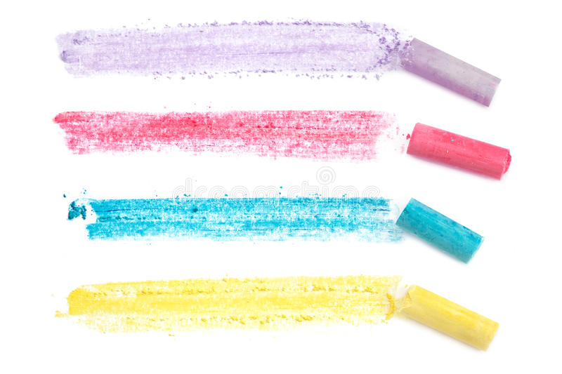 Chalk Lines royalty free stock images