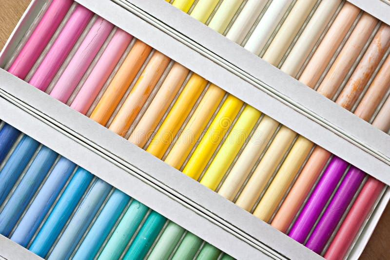 Download Chalk sticks. stock photo. Image of vivid, graphic, bright - 13419100
