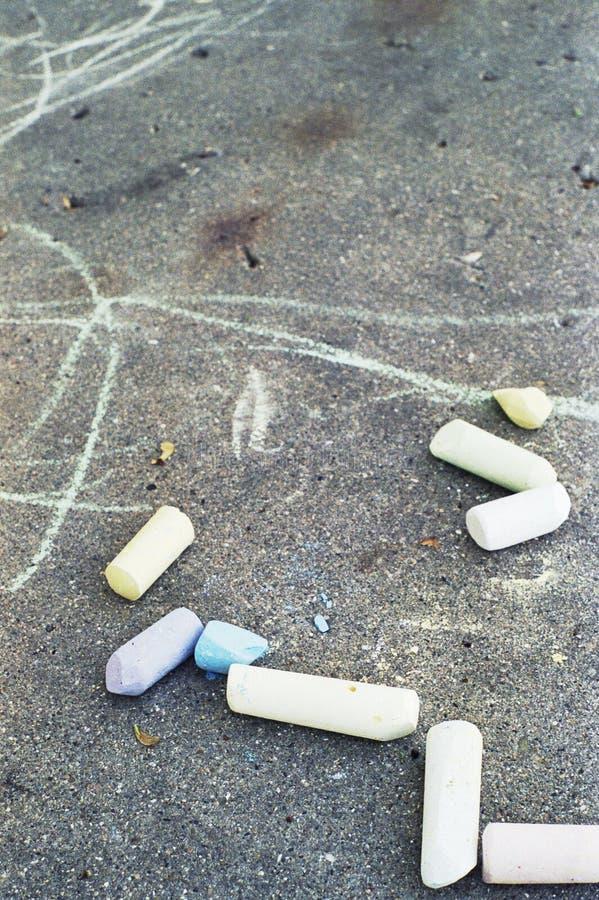 Download Chalk sticks stock photo. Image of children, sidewalk - 2736538