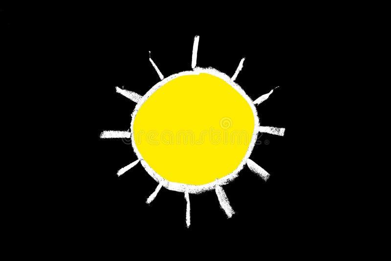 Download Chalk Weather Forecast Stock Image - Image: 10349521