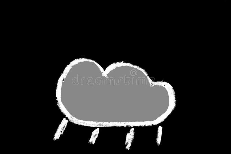 Download Chalk weather forecast stock illustration. Image of info - 10521374