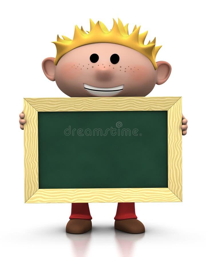 chalkboard мальчика бесплатная иллюстрация