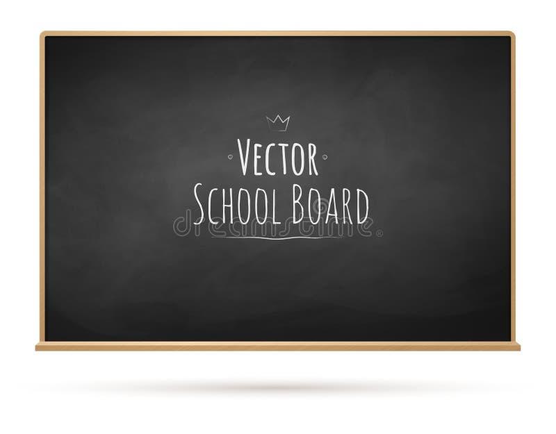 chalkboard διανυσματική απεικόνιση