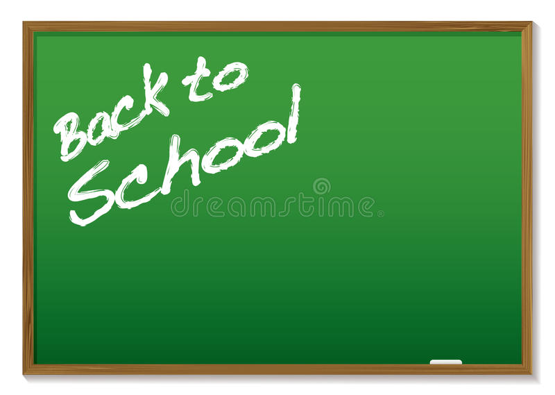 Download Chalkboard back to school stock vector. Illustration of remind - 11856506