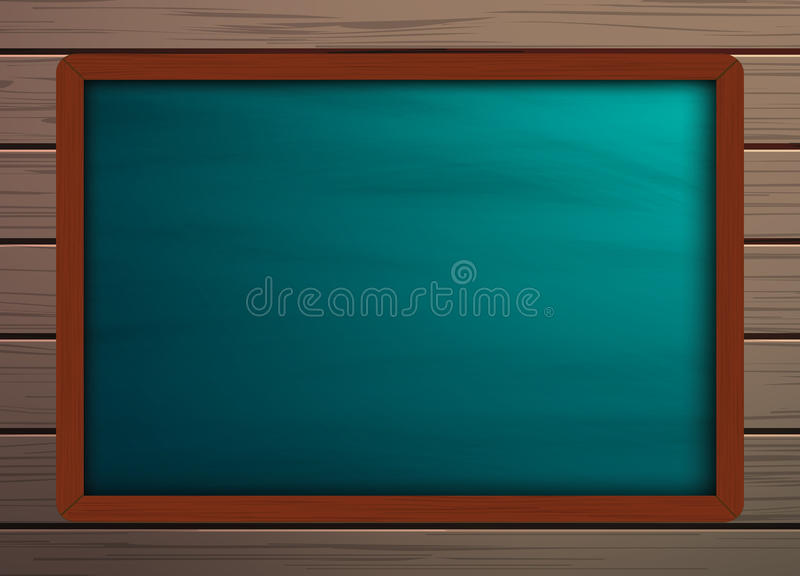 Chalkboard background template on wooden pattern texture stock photos