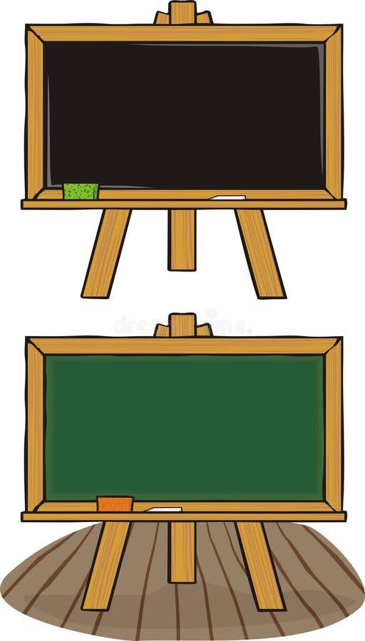 Chalkboard - black & green