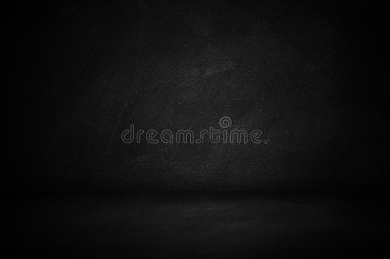 chalkboard and blackboard, dark wall studio background royalty free stock photo