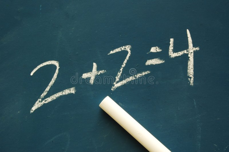 Chalkboard and Chalk stock photos