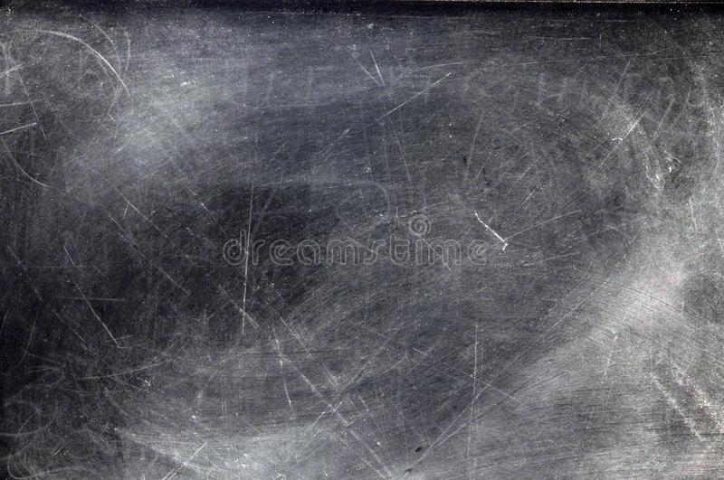 Chalkboard With Dust Royalty Free Stock Image