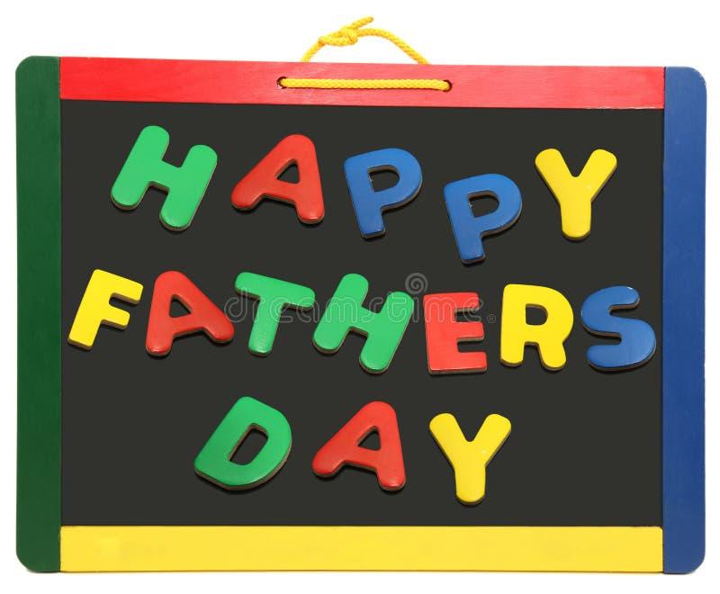 chalkboard dzień ojciec szczęśliwy s zdjęcie royalty free