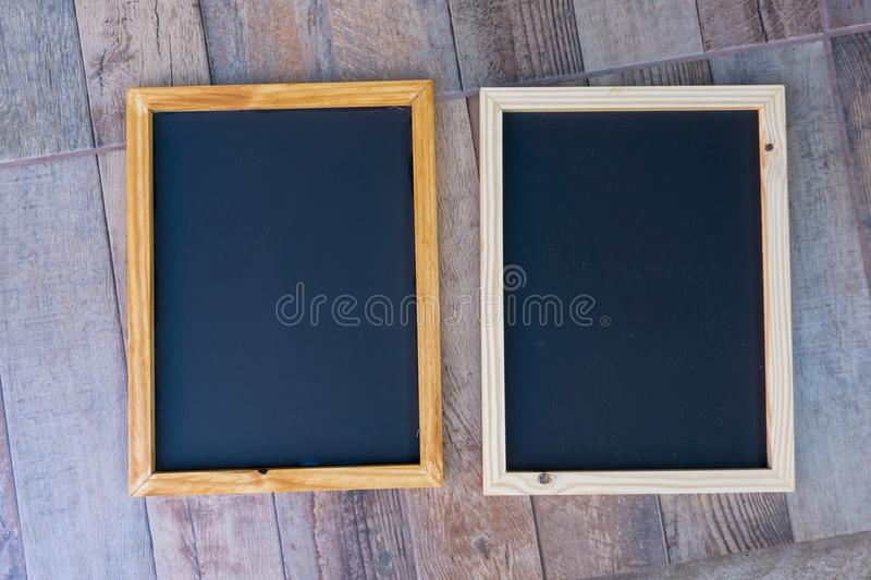 Chalkboard ready for mock up royalty free stock images