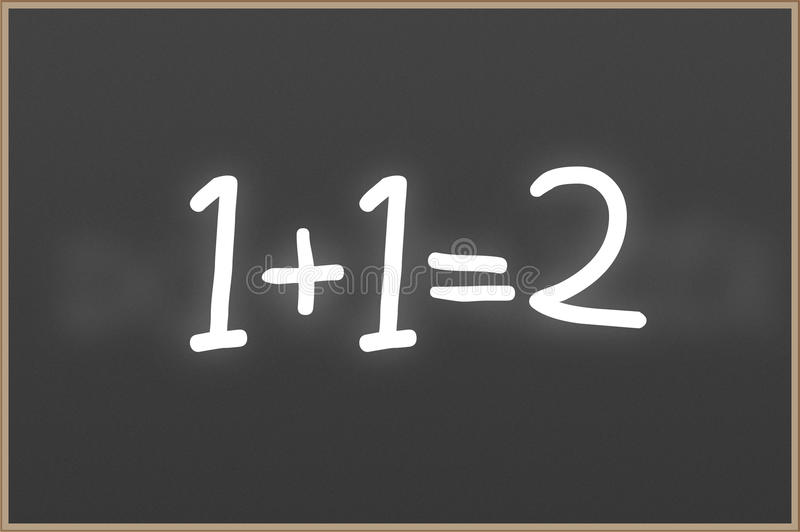 Chalkboard With Text 1 1 2 Stock Illustration