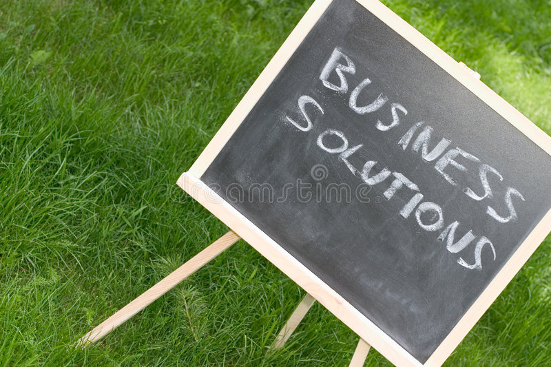 Chalkboard and text stock photography