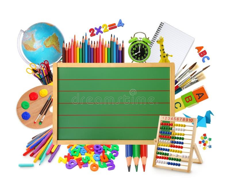 chalkboard zieleń zdjęcia stock