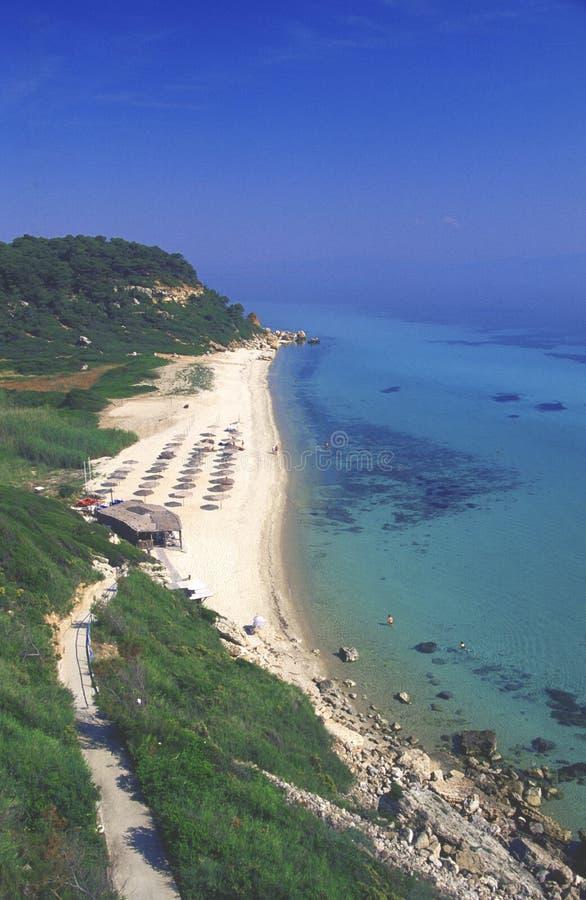 Chalkidiki, Griekenland stock fotografie