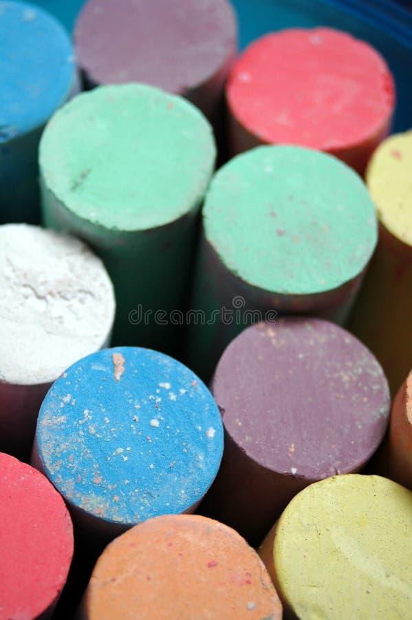 Chalks royalty free stock photography
