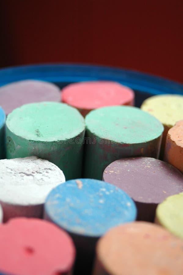 Chalks royalty free stock image