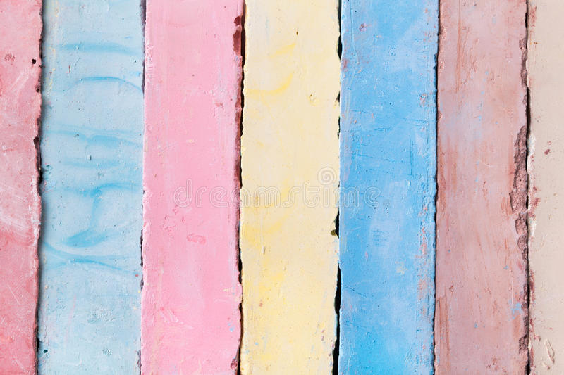 Download Chalks pieces colorful stock image. Image of school, group - 30610245