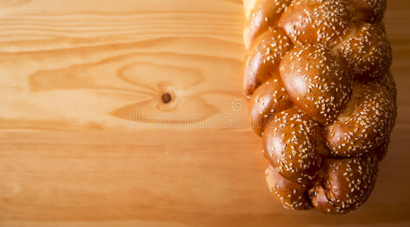 Challah loaf royalty free stock image