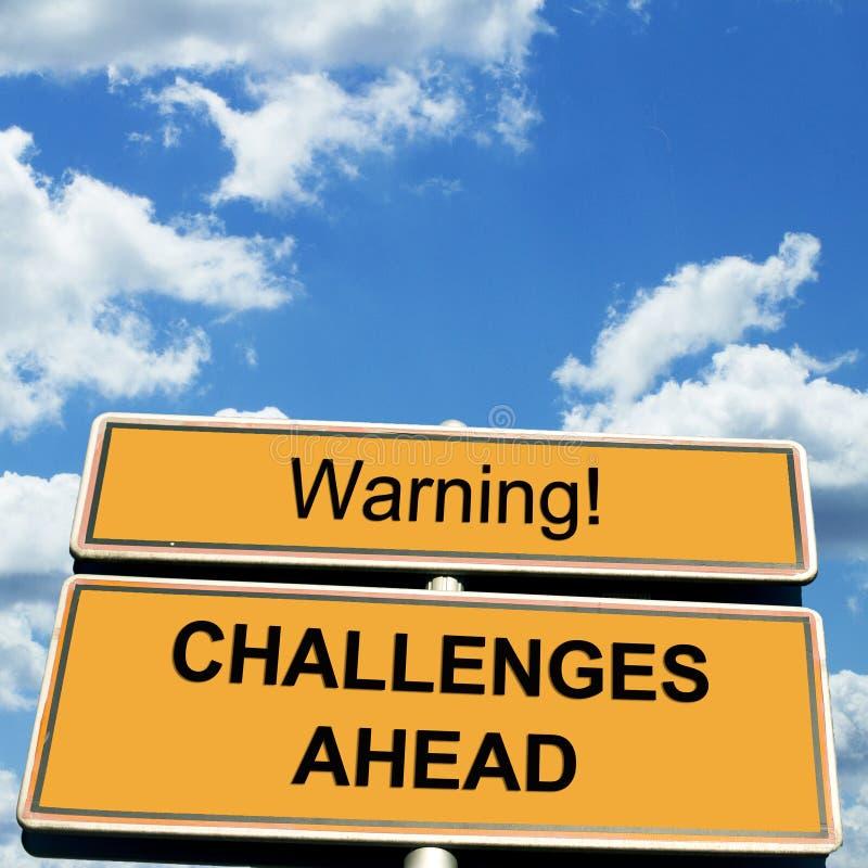 challenge royaltyfri bild