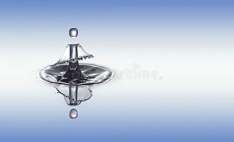Challenger drop royalty free stock images