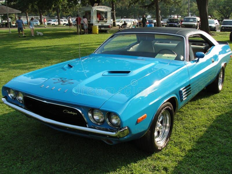 Challengeur de 1972 Dodge image stock