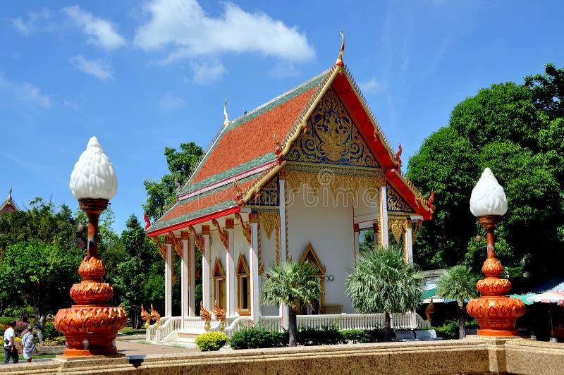 chalong普吉岛寺庙泰国wat 库存图片