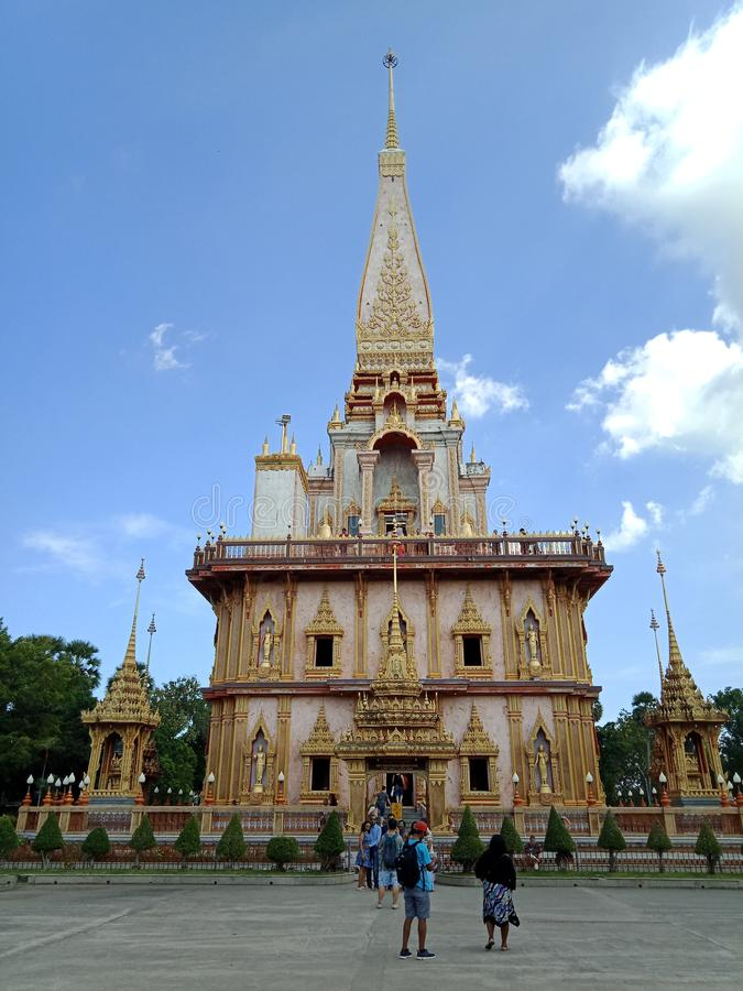 Chalong świątynia zdjęcie stock