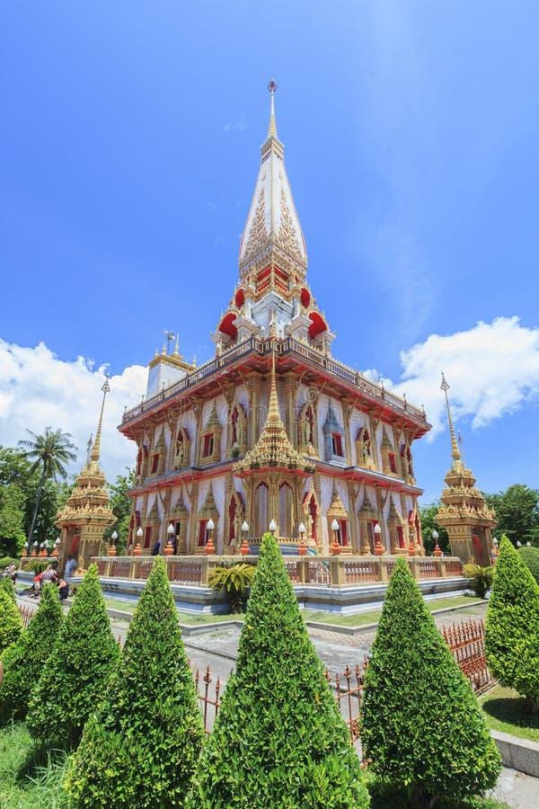chalong Phuket świątynny Thailand wat obraz royalty free