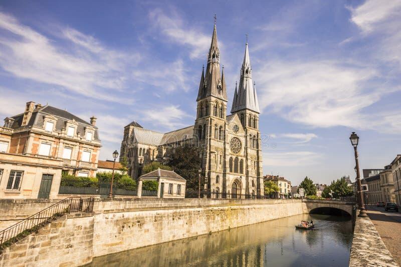 Chalons-en-Champagne Frankrike royaltyfri fotografi