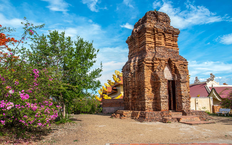 Cham basztowy Wietnam obraz royalty free