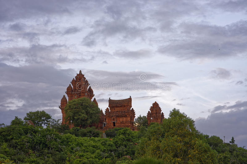 Cham si eleva 9 ottobre 2016, Ninh Thuan, Vietnam - - immagine stock