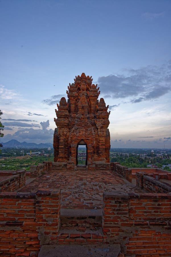 Cham si eleva 9 ottobre 2016, Ninh Thuan, Vietnam - - immagine stock libera da diritti